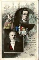 POLITIQUE - Carte Postale - Souvenir De La Visite De Mr. Loubet à Sa Majesté Alphonso XIII En 1905  - L 51273 - Ereignisse