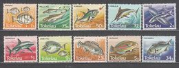 Tokelau - Correo Yvert 108/17 ** Mnh Fauna. Peces - Tokelau