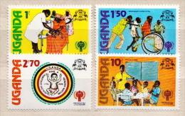 Uganda MNH Set - Childhood & Youth