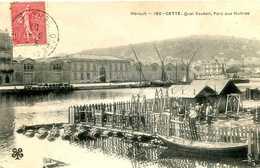 SETE  (CETTE)  = Quai Vauban Pars Aux Huitres    1347 - Sete (Cette)