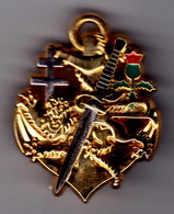 Commando Kieffer. AB. 2 Anneaux. - Armée De Terre