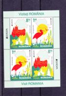 2012 - Roumanie - Romania - N° YT  5595 Et 5596** Feuillet De 2x2 Timbres - Europa-CEPT