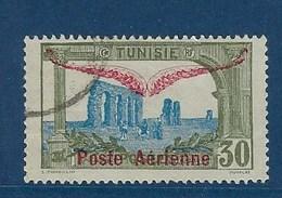 """Tunisie Aerien YT 2 PA) """" Timbre Surchargé """" 1920 Oblitéré - Tunisia (1888-1955)"""