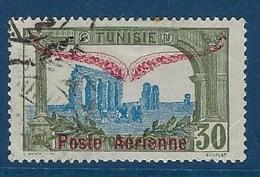 """Tunisie Aerien YT 2 (PA) """" Timbre Surchargé """" 1920 Oblitéré - Tunisia (1888-1955)"""
