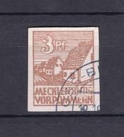 Mecklenburg-Vorpommern - 1946 - Michel Nr. 29 X - Gest. - 70 Euro - Sowjetische Zone (SBZ)