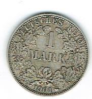 Allemagne 1 Mark 1901 Argent - Deutschland
