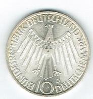 Allemagne 10 D,Mark Argent 1972 15Gm - Deutschland