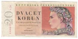 CZECHOSLOVAKIA20KORUN01/05/1949P70VF/XF.CV. - Cecoslovacchia