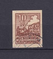Mecklenburg-Vorpommern - 1946 - Michel Nr. 35 Y - Gest. - 60 Euro - Sowjetische Zone (SBZ)
