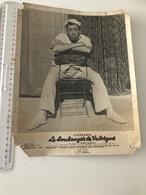 Photographie Ancienne Grand Format  FERNANDEL Le Boulanger De Valorgue (arrachée Dans Les Coins) - Affiches & Posters