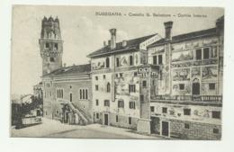 SUSEGANA - CASTELLO S.SALVATORE - CORTILE INTERNO  VIAGGIATA FP - Treviso