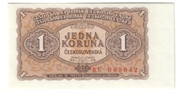 CZECHOSLOVAKIA1KORUN1953P78UNC.CV. - Cecoslovacchia