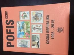 Catalogue POFIS 1993-2015 République Tchèque 270 Pages 510 Grammes Très Bon état - Tchéquie