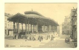 A1603[Postkaart] Louvain / Marché Aux Poissons (Nels) [Leuven Vismarkt Overdekte] - Leuven