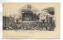 75 - PARIS - La Grande Roue De Paris, Ouverte Et Fonctionnant Tous Les Jours - Concert D' été - Petits Métiers à Paris