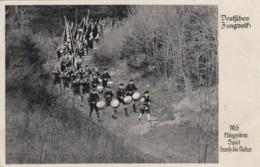 Deutsches Reich Propaganda Postkarte 1941 Deutsches Jungvolk - Briefe U. Dokumente