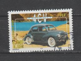 "FRANCE / 2000 / Y&T N° 3319 : ""Voitures Anciennes"" (Renault 4 CV) - Choisi - Cachet Rond - Gebruikt"