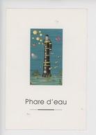 """Magali Chaudet Illustrateur, Les Phares Z' Et Attrapes """"phare D'eau"""" Fardeau - Humour"""
