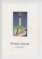 "Magali Chaudet Illustrateur, Les Phares Z' Et Attrapes ""phare Macie"" Pharmacie - Humour"