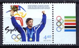 Estonia 2001 / Olympic Games Winner Sydney 2000 MNH Juegos Olímpicos Sídney / Jo33  32-33 - Summer 2000: Sydney