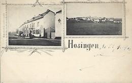Luxembourg  -   Hosingen  -  Hôtel  Hippert  -  Charles Bernhoeft,Luxembg  -  2 Scans - Cartes Postales