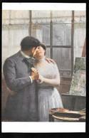 Cpa...illustrateur...Loubat Henri...heure D'enchantement...couple S'enlacant... - Illustrateurs & Photographes