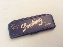 Petite Boîte Vide - étui Pour Papier à Cigarettes Smoking - 8,5x3cm - Boîtes