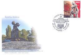 2020. Moldova, Judaica, 27 January - International Day Of Victim Memory Of Holocaust, FDC, Mint/** - Moldova
