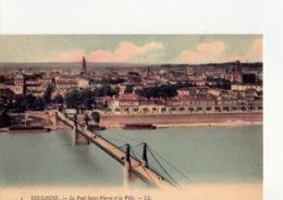 CPA - 31 - 41  - TOULOUSE - LE PONT SAINT PIERRE ET LA VILLE - N° I - - Toulouse