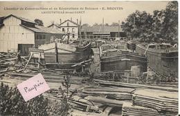 LANEUVEVILLE Devant  NANCY - Chantier De Construction Et Réparation De Bateaux - Other Municipalities