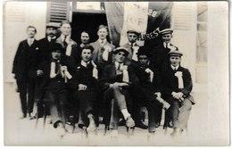 Allier ABREST Carte-photo Groupe De Conscrits 1928 - Autres Communes