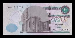 Egipto Egypt 10 Pounds 2017 Pick 73b SC UNC - Aegypten