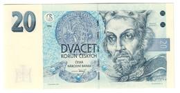 CZECH REPUBLIC20KORUN1994P10UNCA Series - 10A.CV. - Repubblica Ceca