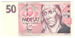CZECH REPUBLIC50KORUN1993P4UNCA Series - 4A.CV. - Repubblica Ceca