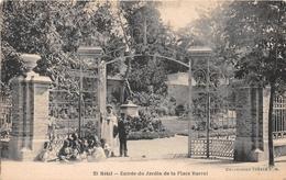 ALGERIE - SETIF - Entrée Du Jardin De La Place Barral - Setif