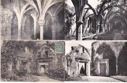 Lot De 10 CPA   / SAINT MICHEL EN L'HERM VENDEE / L'ABBAYE Et LE CHATEAU (5) - Saint Michel En L'Herm