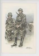 Uniformes Belges, Belgische Uniformen, Lanciers Lansiers Motorisés 1940 (James Thiriar Illustrateur) Hommage - Uniformen