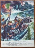 MAS ITALIANI NEL MAR NERO  ASSEDIO DI SEBASTOPOLI   - NON VIAGGIATA - Guerre 1939-45