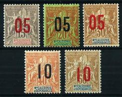 Nueva Caledonia Nº 105/9 Nuevo* - Ungebraucht