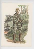 Uniformes Belges, Belgische Uniformen, Guides Régiment Motorisé 1940 (James Thiriar Illustrateur) Hommage - Uniformen