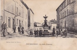 83 /POURRIERES / LA  BELLE FONTAINE / ANIMEE - Other Municipalities