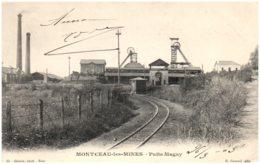 71 MONTCEAU-les-MINES - Puits Magny - Montceau Les Mines