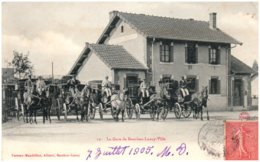 71 La Gare De BOURBON-LANCY Ville - France