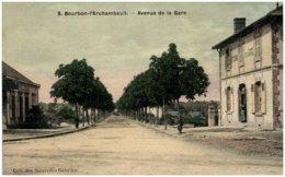 03 BOURBON-L'ARCHAMBAULT - Avenue De La Gare - Bourbon L'Archambault