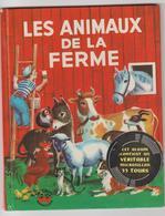 Livre + Disque « Les Animaux De La Ferme » N°2 / Les Albums Merveilleux / 1958 - Children