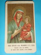 Madonna Di S.LUCA - Basilica BOLOGNA - Monte Della GUARDIA - Santino Vecchio  Ditta A.Malagutti Di A.Oliva - Images Religieuses