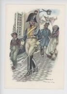 Uniformes Belges, Belgische Uniformen, Maréchaussée 1831 (James Thiriar Illustrateur) Hommage - Uniformen