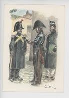 Uniformes Belges, Belgische Uniformen, Gendarmes 1835 (James Thiriar Illustrateur) Hommage - Uniformen