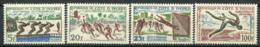 Côte D'Ivoire 1961 Mi. 233-236 MNH 100% Sports, Abidjan - Côte D'Ivoire (1960-...)