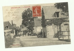 51 Angluzelles La Grande Rue  1908 - Otros Municipios